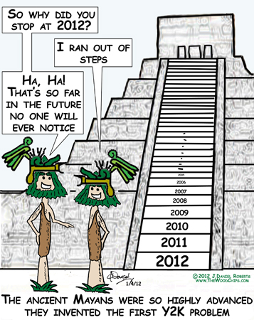 How the Mayans calendar really predicted the end of the world and Y2K