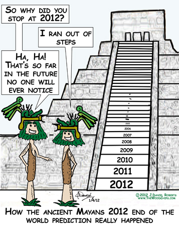 Mayan 2012 End of the world prediction