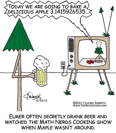 Elmer had a secret TV show.