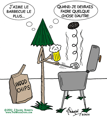 J'aime le barbecue le plus ...
