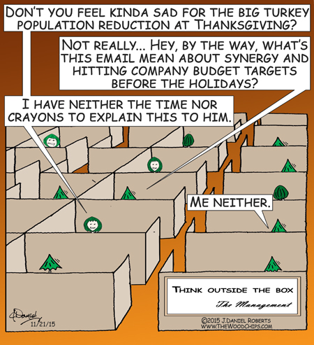 There's a big Turkey Reduction In Force (RIF) coming very soon.